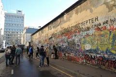 Viktor Tsoi wall Stock Photo