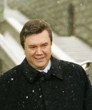 Viktor Yanukovych. On a World Russian People's Council royalty free stock photos