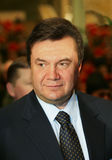 Viktor Yanukovych. On a World Russian People's Council royalty free stock images