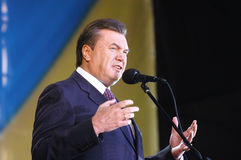 Viktor Yanukovych stock photography