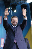 Viktor Yanukovych Fotos de Stock Royalty Free