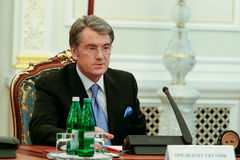 Viktor Yushchenko - the third President of Ukraine (2005 to 2010 Stock Photo