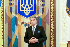Viktor Yushchenko - the third President of Ukraine (2005 to 2010 Royalty Free Stock Photo