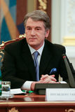 Viktor Yushchenko - the third President of Ukraine (2005 to 2010 Stock Images