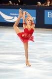 Viktoria Pavuk 2007/2008 de short Imagens de Stock Royalty Free