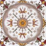 Viktorianische antike dekorative Fliese stockbilder