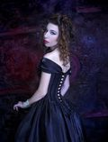 Viktorianische Dame Lizenzfreie Stockfotografie