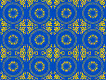 Viktorianische dekorative Tapete Lizenzfreie Stockfotografie