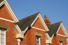 Viktorianische Häuser Lizenzfreie Stockfotografie