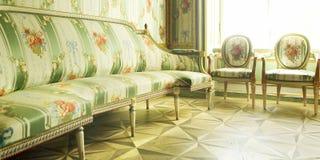 Viktorianische Möbel stockfoto