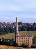Viktorianische Mühle, Norton abbrechend, Großbritannien Stockbilder