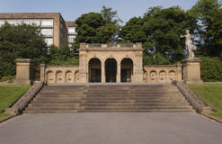 Viktorianische Parkstrukturen Lizenzfreie Stockfotografie