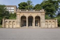Viktorianische Parkstrukturen Stockfotos