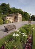 Viktorianische Parkstrukturen Stockbild