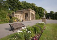 Viktorianische Parkstrukturen Lizenzfreies Stockfoto