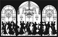 Viktorianische Party Lizenzfreie Stockfotos