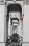 Viktorianische Porticos lizenzfreie stockfotografie