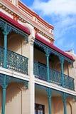 Viktorianische Reihenhäuser in Sydney Australia Stockfoto