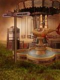 Viktorianische Spaßmesse Lizenzfreie Stockfotografie