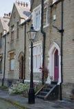 Viktorianische Straße und gaslamp Lizenzfreie Stockfotografie