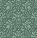 Viktorianische Tapete deckte Bild mit Ziegeln Stockbilder