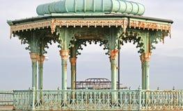 Viktorianischer Bandstand Stockbild