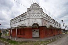 Viktorianischer Stil verlassenes errichtendes Texas USA Lizenzfreies Stockfoto