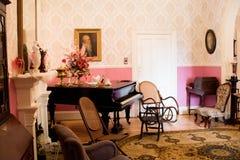 Viktorianischer Tagesraum Stockbilder