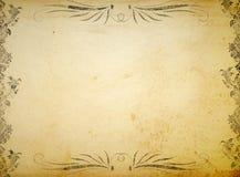 Viktorianischer Verzierunghintergrund Stockfotos