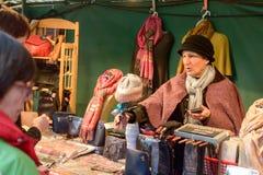 Viktorianischer Weihnachtsmarkt - Gloucester-Kais 27 Lizenzfreie Stockbilder