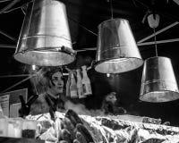 Viktorianischer Weihnachtsmarkt - Gloucester-Kais 43 Stockfotografie