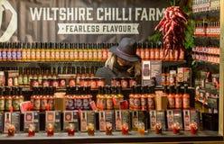 Viktorianischer Weihnachtsmarkt - Gloucester-Kais 50 Lizenzfreie Stockfotografie