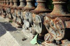 Viktorianischer Zaun Stockfoto