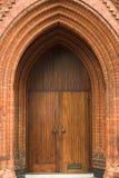 Viktorianischer Ziegelstein-Torbogen Lizenzfreie Stockbilder