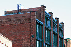 Viktorianisches Bürogebäude Stockfotos