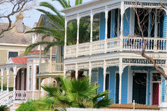Viktorianisches Galveston Lizenzfreies Stockbild