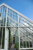 Viktorianisches Glashaus Lizenzfreies Stockfoto