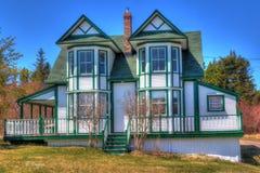 Viktorianisches Häuschen Lizenzfreie Stockbilder