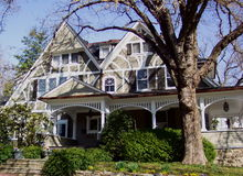 Viktorianisches Haus Lizenzfreies Stockfoto