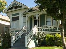 Viktorianisches Haus San Jose Lizenzfreie Stockfotos