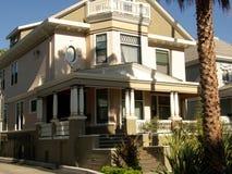 Viktorianisches Haus San Jose Lizenzfreies Stockfoto