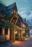Viktorianisches London Lizenzfreies Stockfoto