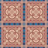 Viktorianisches nahtloses Muster Lizenzfreie Stockfotografie