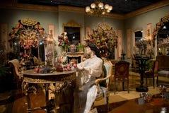 Viktorianisches Raum-Blumen-Erscheinen Lizenzfreie Stockbilder