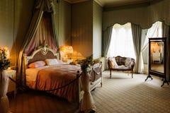 Viktorianisches Schlafzimmer Lizenzfreie Stockbilder