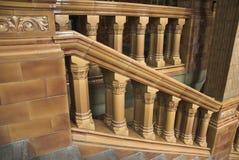 Viktorianisches Treppenhaus Lizenzfreies Stockbild