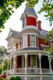 Viktorianisches Ziegelstein-Bett - und - Frühstück Haus Lizenzfreie Stockfotografie