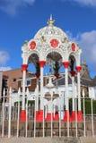 Viktoriansk dricka springbrunn, Newport-på-Tay, pickolaflöjt Royaltyfri Bild