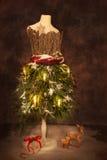 Viktoriansk festlig jul Fotografering för Bildbyråer