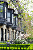 Viktoriansk fjärd Windows Royaltyfri Fotografi